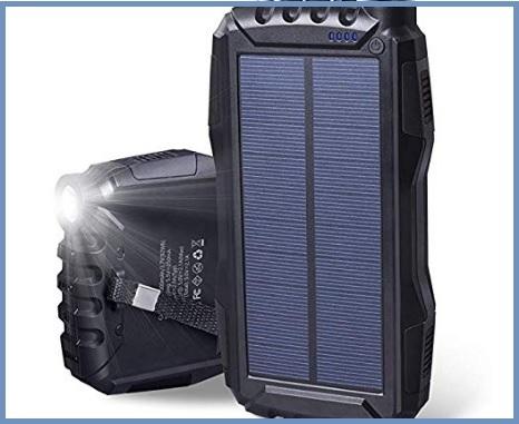 Caricatore Portatile Solare