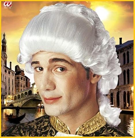 Parrucca teatrale mozart