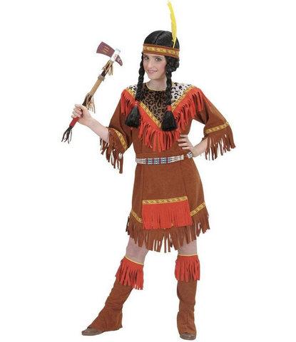 Indiana vestito da carnevale