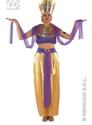Costume di carnevale abito da egiziana