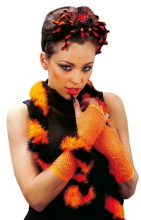 Articoli di carnevale ballerini samba piume