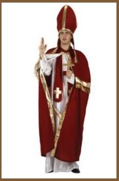Carnevale Costume Da Cardinale