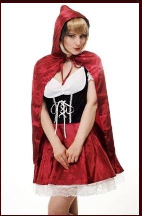 Carnevale cappuccetto rosso vestito