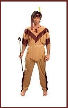 Vestito Di Carnevale Da Indiano