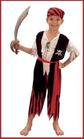 Vestiti di carnevale e costumi da pirata