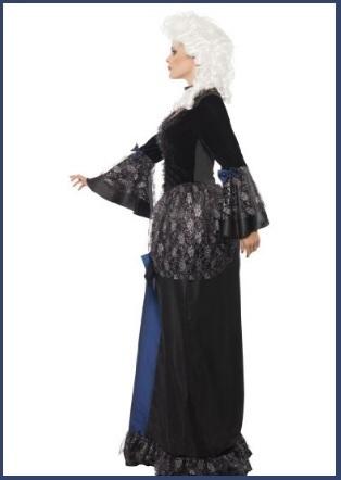 Costume da dama barocco del 600