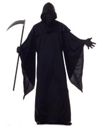 Costume intero famoso della morte per halloween