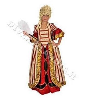 Damigella del 700 costume intero