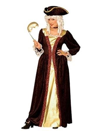 Costume intero nobildonna veneziana carnevale