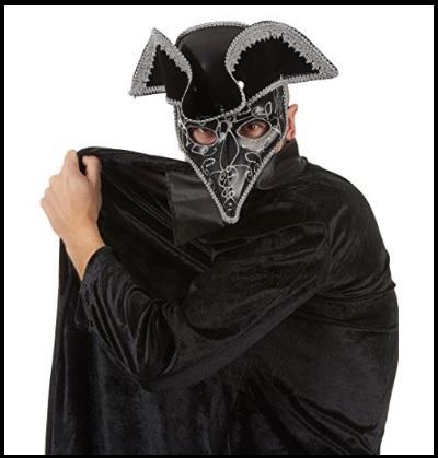 Maschera Veneziana Uomo Elegante