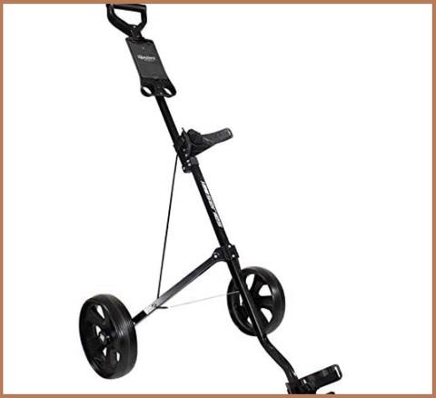 Carrello golf 2 ruote