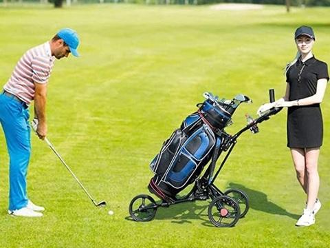 Carrello golf pieghevole