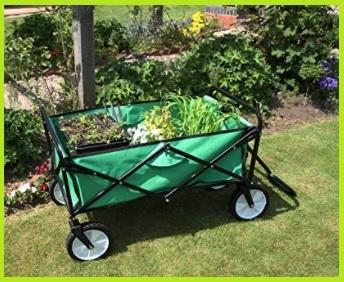 Carrello giardinaggio con ruote