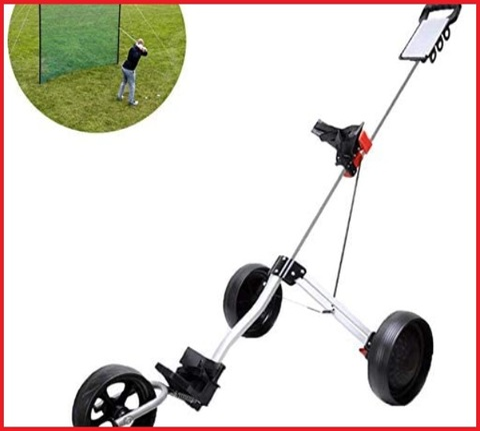Carrelli golf manuali 3 ruote