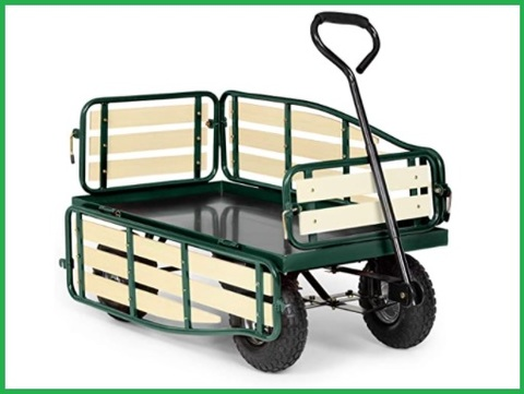 Carrelli da giardino e trasporto legna