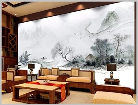 Carta Da Parati Stile Cinese 3d Pittura Cinese