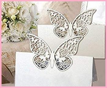 Cartellini segnaposto matrimonio