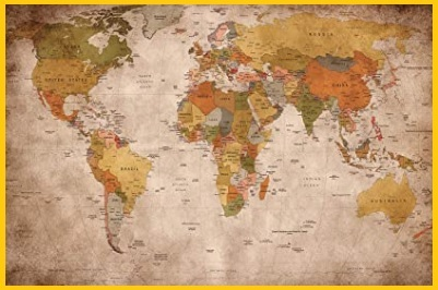 Cartografia da parete