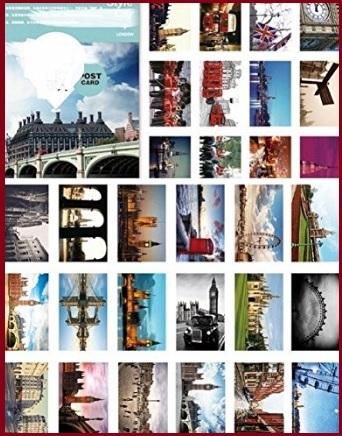 Cartoline con paesaggi di londra