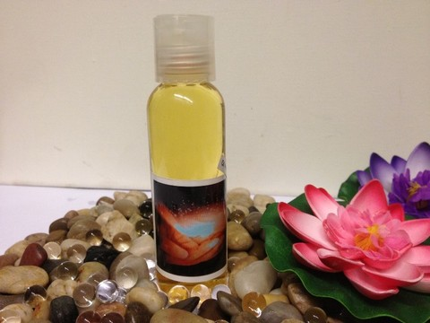 Bioenergetico olio per massaggi energizzante e stimolante