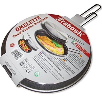 Girafrittata grill antiaderente in alluminio