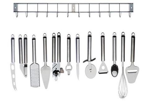 Set Completo Acciaio Inox Utensili Utili In Cucina Completo