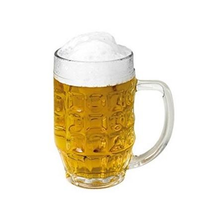 Bicchiere boccale di birra grande 6 pezzi classici