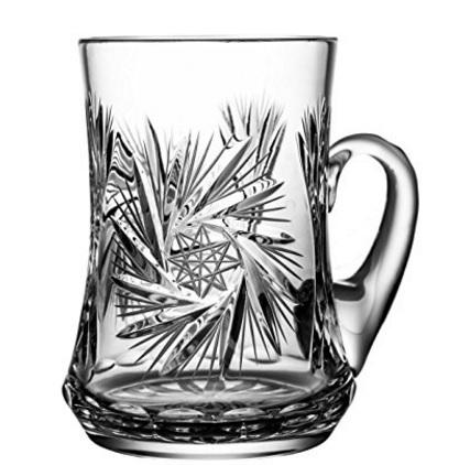 Boccale di birra in cristallo piombo originale