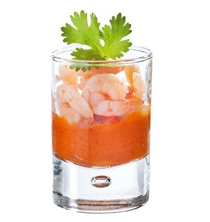 Bicchierino per grappa o altri liquori in vetro