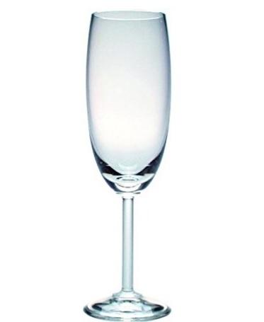 Bicchiere per spumante o champagne in cristallo 6 pezzi