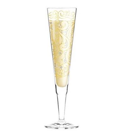 Bicchieri spumante con decorazioni originali