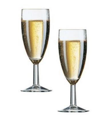 Bicchieri spumante senza taratura flute
