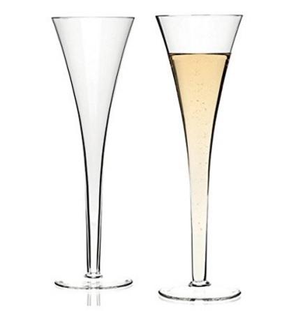 Bicchieri lunghi e grandi leonardo nizza vetro