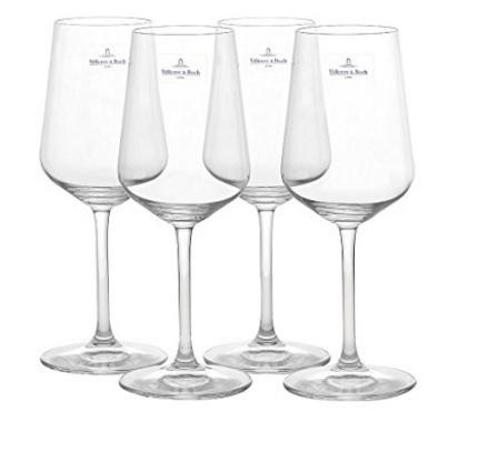 Bicchieri in cristallo per il vino bianco