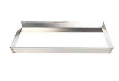 Teglia rettangolare con bordo in alluminio