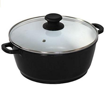 Pentola casseruola in ceramica per la cucina