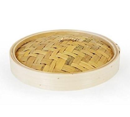 Cestello in bambù per cucinare al vapore