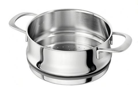 Cestello per la cottura al vapore da usare in casa