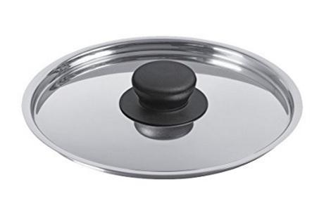 Coperchio in acciaio inox ergonomico