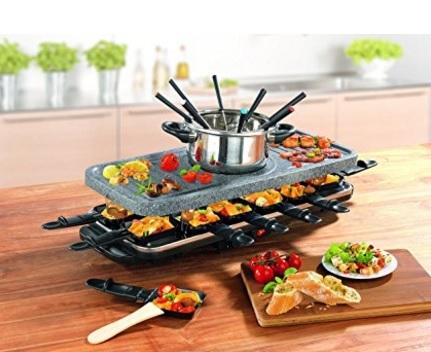Raclette set spettacolare originale gourmet