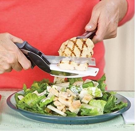 Forbici 2 in 1 utensile per la cucina