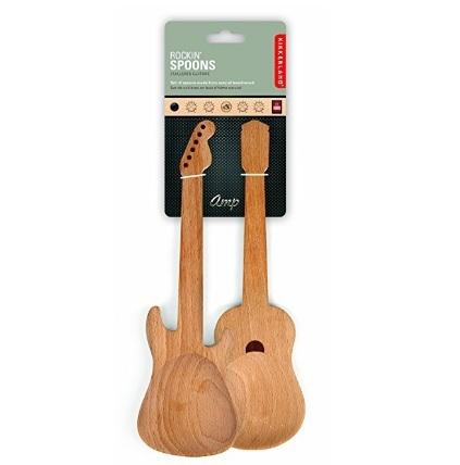 Mestoli unici e molto belli a forma di chitarre