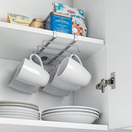 Porta tazzine salvaspazio per ripiano