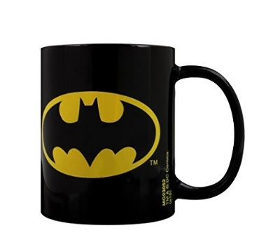 Tazza con logo di batman dc comics
