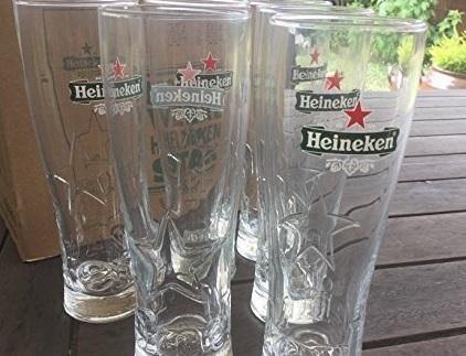 Bicchieri birra heineken