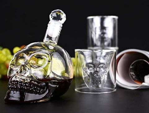Bicchieri liquore moderni