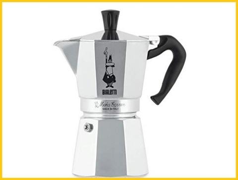 Caffettiere moka in acciaio