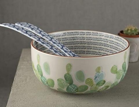 Insalatiere ceramica bianco