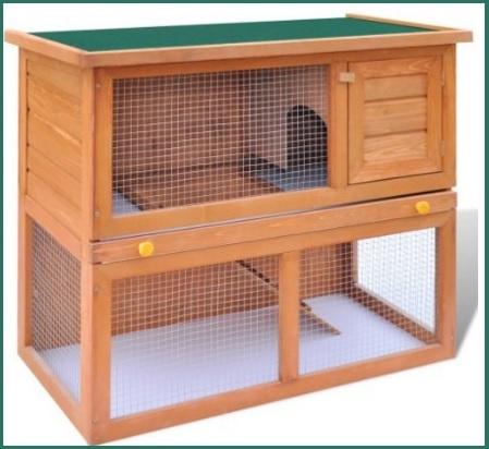 Gabbie in legno per animali da cortile
