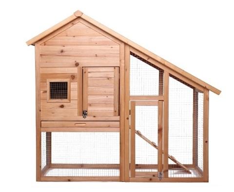 Casetta Per Conigli Su Due Piani E Spaziosa